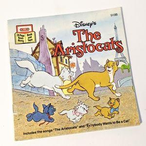 Vintage Disney's The Aristocats Read Along Book